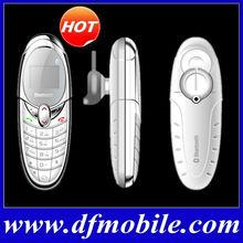 Popular 0.66inch Dual Sim GSM Wireless Mini Bluetooth Phone X5
