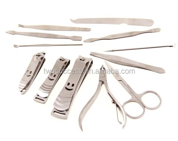 12 pcs cheap beauty nail manicure set
