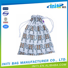 Cheap shopping high quality small nylon mesh drawstring bag