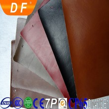 pvc leather stocklot sold in yard and meter made in china