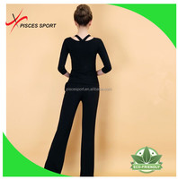 custom made new design ladies plain fashion trousers cheap