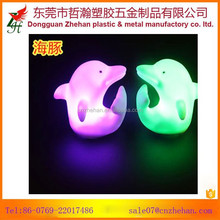 Dolphin fish led small night light, colorful small night light,carnival party decorative tool