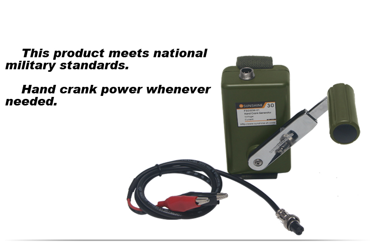 Hand Military magnetic Power Generator