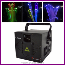 New mini 2W RGB full color animation led laser light high power laser