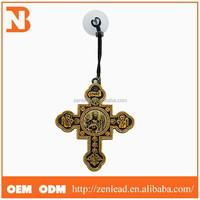 Golden orthodox acrylic photo pendant wholesale
