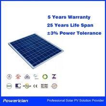 Powerician 15Wp 18V Mini PV Module Polycrystalline Solar Panel For 12V Solar Battery Home System