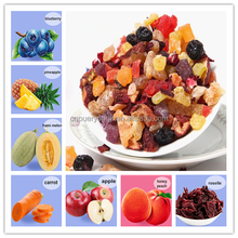 Natural Organic And EU Compliant Dried Fruit Blueberry Flavor Tea Blend Loose Leaf Detox And Beauty Tea 50g/100g Per Bag