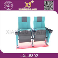 XJ-6802 fabric cover made in China cinem movie chairs for sale
