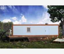 decorated fireproof waterproof durablecamp accommodation modified shipping container house