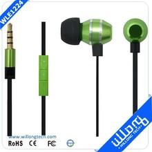 Funny Metal In Ear Earphones & Headphones with Volume Control