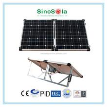 new mono and poly -old customer test free 100 watt folding solar panel with TUV/PID/CEC/CQC/IEC/CE