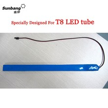 Chinese manufacturer sell high quality 12v 1200mAh ultra-thin slim T8 Led emergency tube backup battery