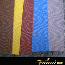 1.8mm pvc leather for basketball/synthetic pvc leather for basketball/pvc leather material for making basketball