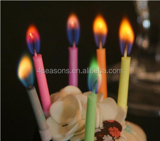 Romantic Coloured Flame Birthday Candle.png