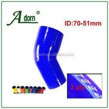 Id: 2から3インチ51- 76ミリメートル45度高のperfomanceシリコン減速機のホース