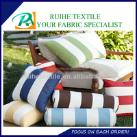 wholdsale price stripe waterproof sofa chair cushion cover fabric