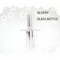 Wholesale Aluminum Perfume Bottle 30ml Lotion Glass Bottle With Aluminium Pump 2015 Newest Cosmetic Jars Glass Bottle Importers