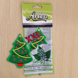 Christmas tree paper car air freshener for Christmas gift