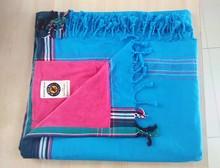 100% Cotton Kikoy /Kikoi Beach Towel with Tassle