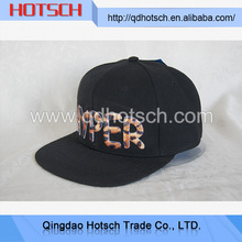 Newly developed customized snapback cap with embroidered logo