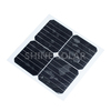 10w 12v monocrystalline semi flexible solar panel