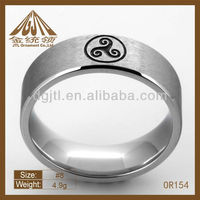 first class stainless steel finger rings OR154