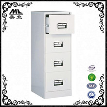 Space saver 4 drawer vertical pedestal filing cabinet