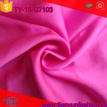 shiny polyester blouses fabric kinds of free samples wholesale satin chiffon fabric