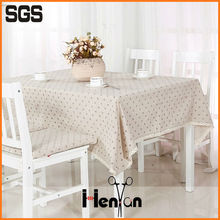 wholesale tablecloth stain resistant