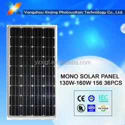 high efficiency PV Mono solar panel/solar module 140 w