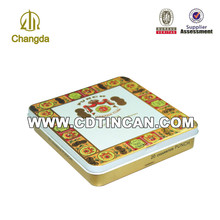 Square Cigarett Packing Box with Hinge Lid CD-126