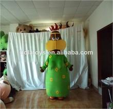 mujer árabe traje de la mascota trajes carácter