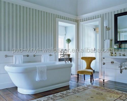 2015 nouveau papier peint tanche pour salles de bains vinyle papier peint - Papier peint vinyle salle de bain ...