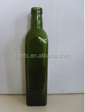 marasca glass bottle olive oil bottle