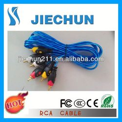 30-pin to 5 rca+usb cable