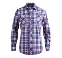Famous brand cotton shirts for men fancy plaid design clothing men