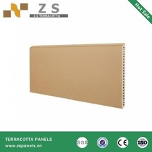 Terracotta Natural Clay Tile With Facade Curtain Wall
