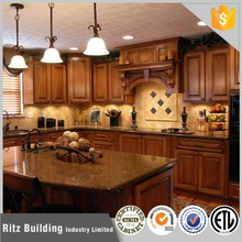 large open solid wood full kitchen guangzhou kitchen cabinets