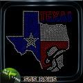 Comercio al por mayor de transferencia de Texas Hotfix para camisetas