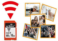 16GB Wifi SD Card (Class 10, Transfer Video And Pictures Directly To Phones And Laptops)(WIFI-16GB)