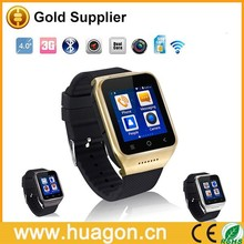 Shenzhen Android 4.4 Smart Watch Phone 5MP Camera Wristwatch Support WIFI and GPS
