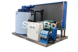 Small manufacturing machines dry ice making machine from China SAMBO