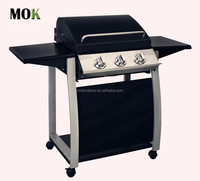 outdoor kitchen bbq grill with football helmet design stainless steel gas barbecue grill machine