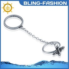 Antique silver bee rings wholesale fantasy jewelry