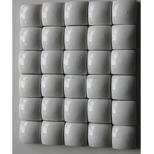 China factory 3d white mosaic background ceramic bathroom and kitchen wall tile