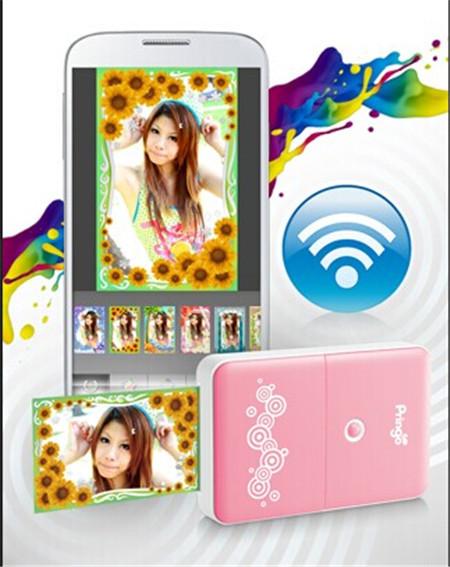 wifi mini-imprimante portable Hiti P231 Pringo vente chaude