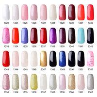 Top 10 soak off uv gel polish 199 colors easy off UV nail gel polish with OEM