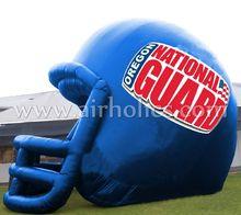 inflatable football helmet,giant inflatable sport football tunnel A7015