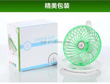usb tazza di caffè originalità mini ventilatore ventilatore ricaricabile estate ufficio desktop ventilatore portatile