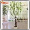 Crystal wedding tree centerpieces artificial flower wedding blossom tree fake trees for indoor wedding decoration